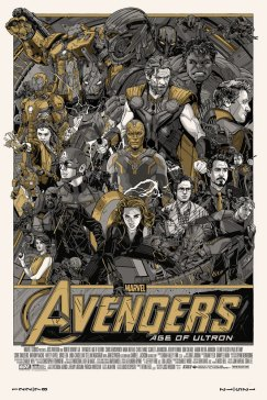 Tyler Stout Avengers Age Of Ultron Poster variant