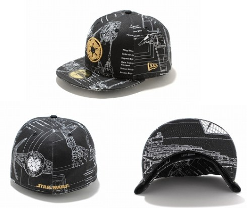 New Era Japan's 59Fifty fitted Star Wars Caps - Y-wing