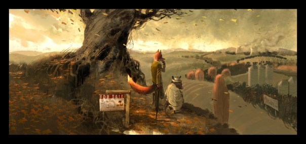 Chris Appelhans' Fantastic Mr. Fox Concept Art