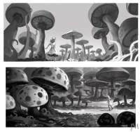 More Concept Art from Tim Burtons Alice in Wonderland ...