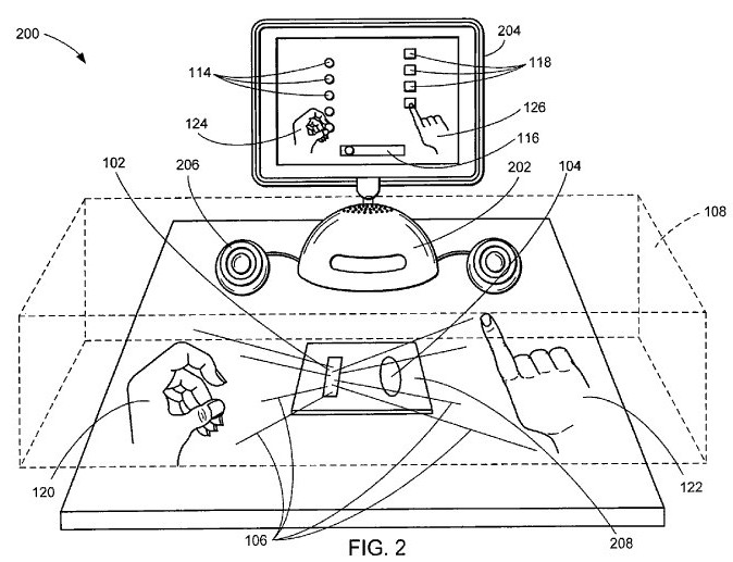 Apple 3D display & Kinect-style tracking system still in