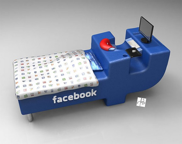 facebook bed pokes you by your pillow