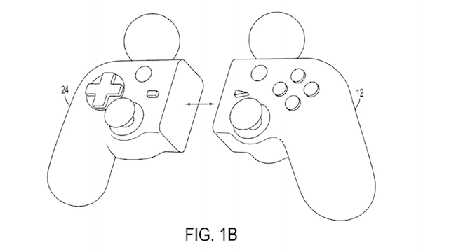 Sony files patent for hybrid DualShock/Move controller