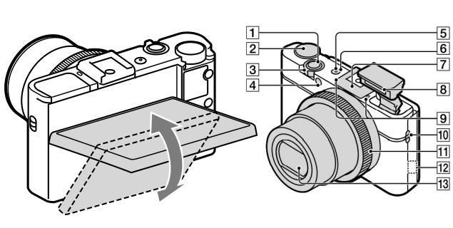 Sony Cyber-shot RX100 MkII leaks with WiFi and tilting