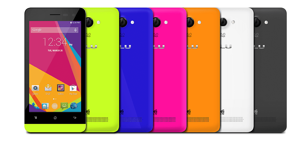 blu products unleashes new