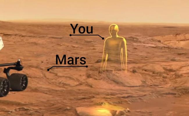 Opportunity Abound Walking On Mars Virtually With Nasa
