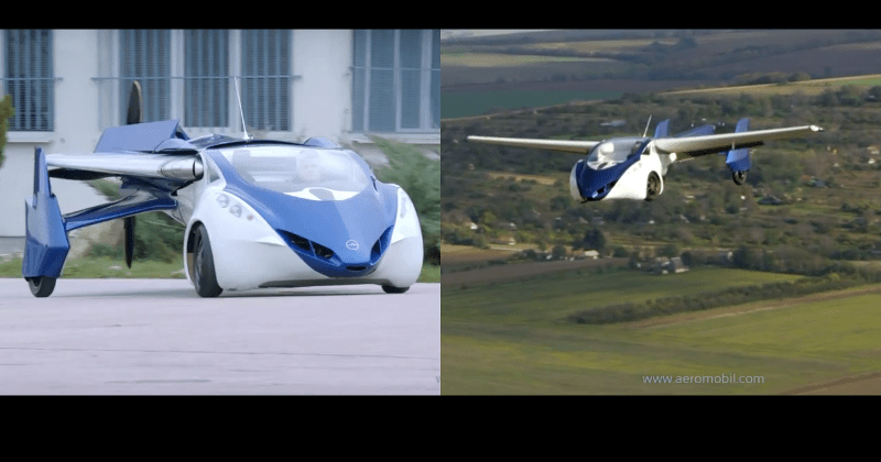 flying car maker aeromobil