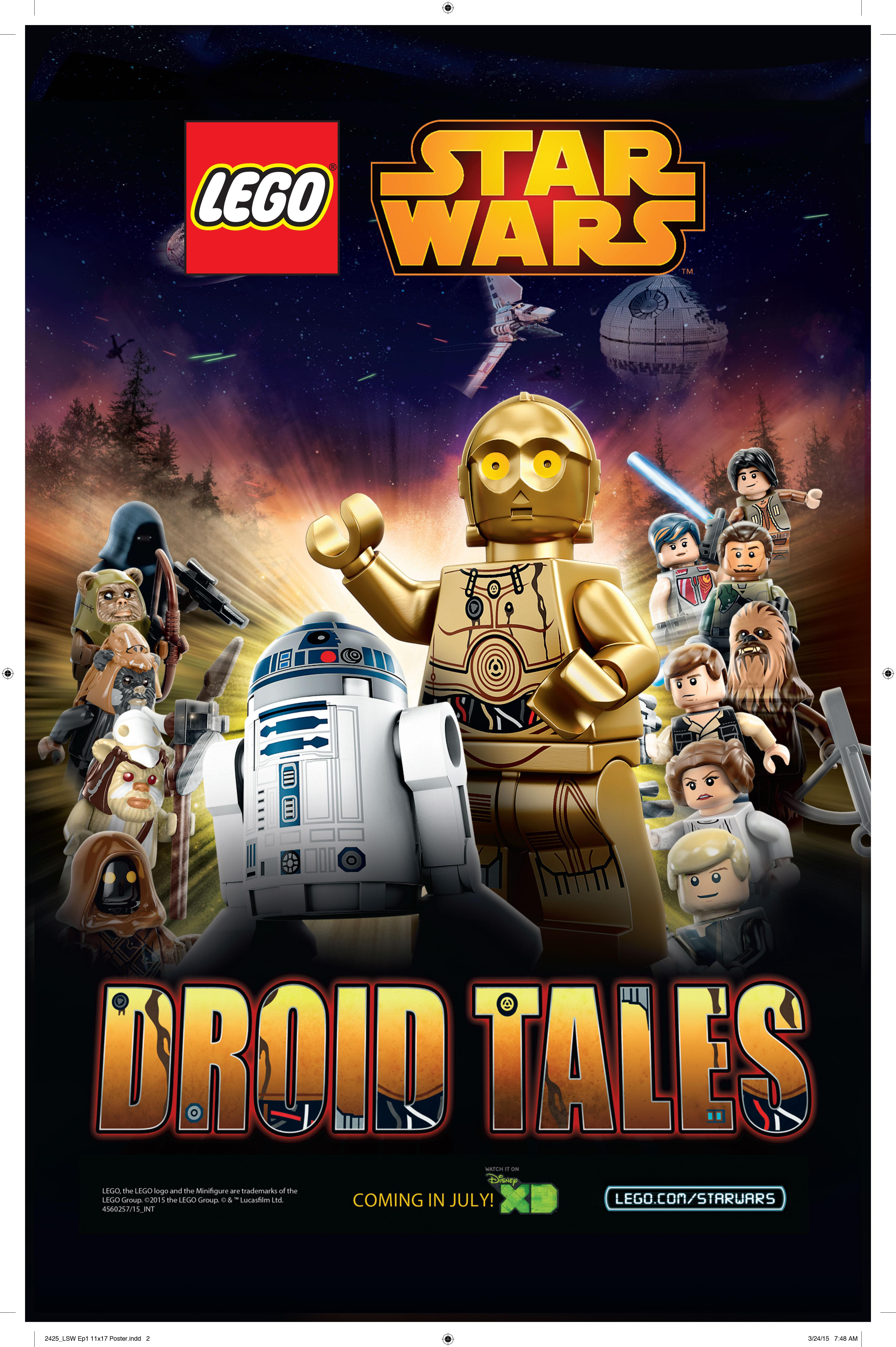 Lego Star Wars Droid Tales Retelling The Saga This July