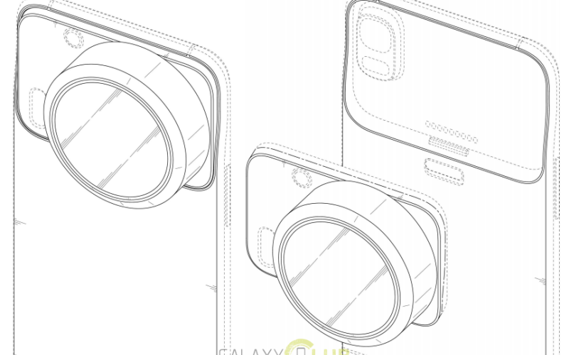 Samsung patents Edge-like phone with two Xenon flash