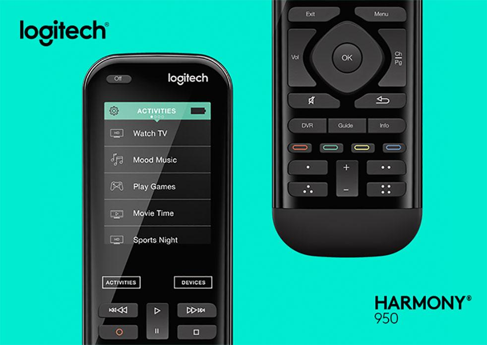 Logitech Harmony 950 controls all devices with color touchscreen  SlashGear