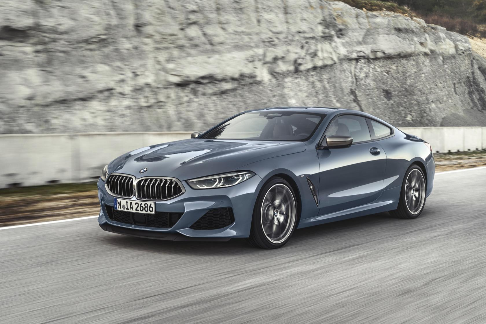 hight resolution of 2019 bmw 8 series official m850i xdrive packs 523hp v8