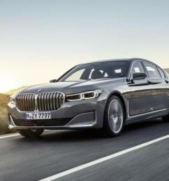 2020 bmw 7 series gets a huge grille tech and hybrid update [ 1280 x 720 Pixel ]