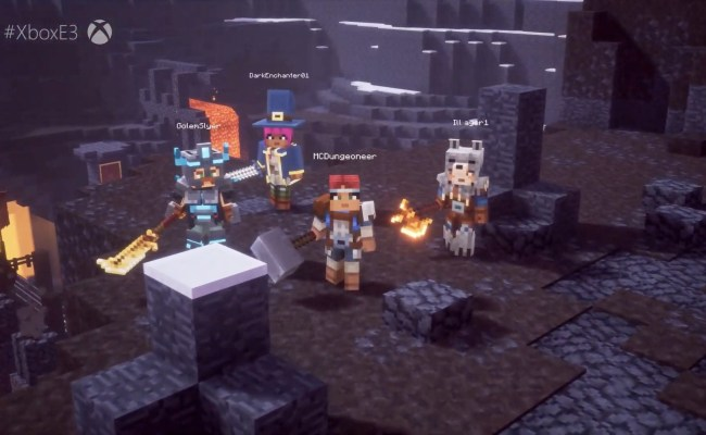 Minecraft Dungeons Takes A Page Out Of Diablo S Book Next