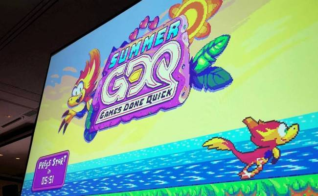 Summer Games Done Quick 2019 Sets Huge Donations Record