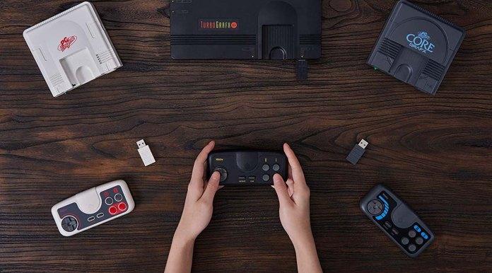 8bitdo Reveals Tg16 Wireless Controller For Turbografx 16 Mini Console Slashgear
