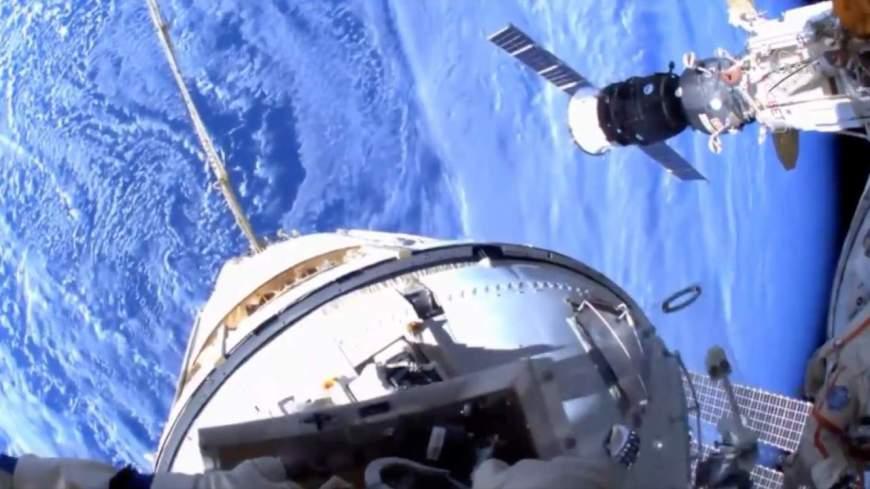 An ISS spacewalk is underway and the helmet-cam video is mesmerizing -  SlashGear