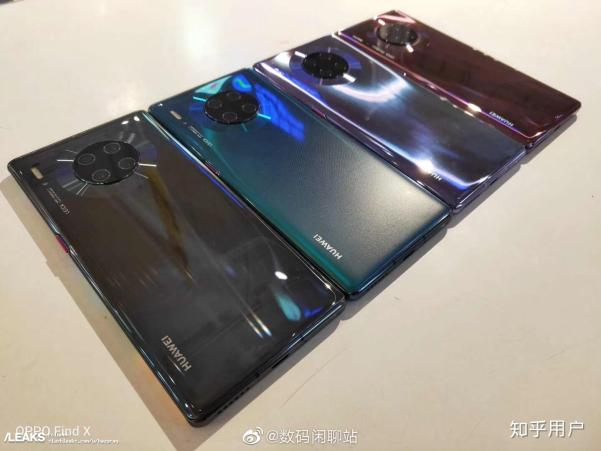 img Mate 30 Pro Real Machines in all colors