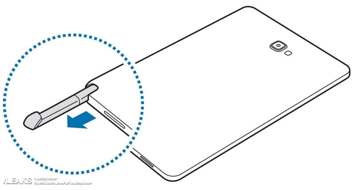 Leaked user manual reveals that the Galaxy Tab A 10.1