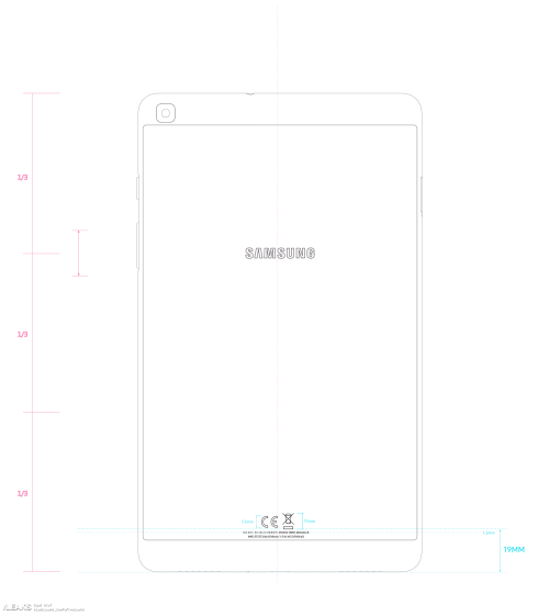 small resolution of galaxy tab a 7 0 2019 schematic and battery capacity leaked by fcc