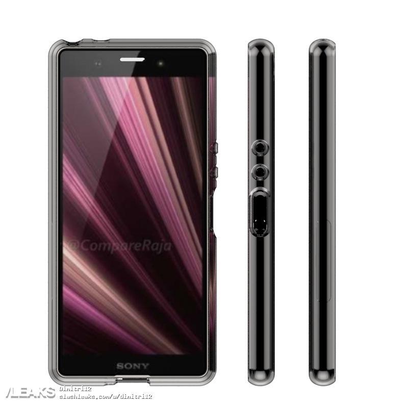 img Sony Xperia XZ4 estojo compara projeto foi revelado anteriormente