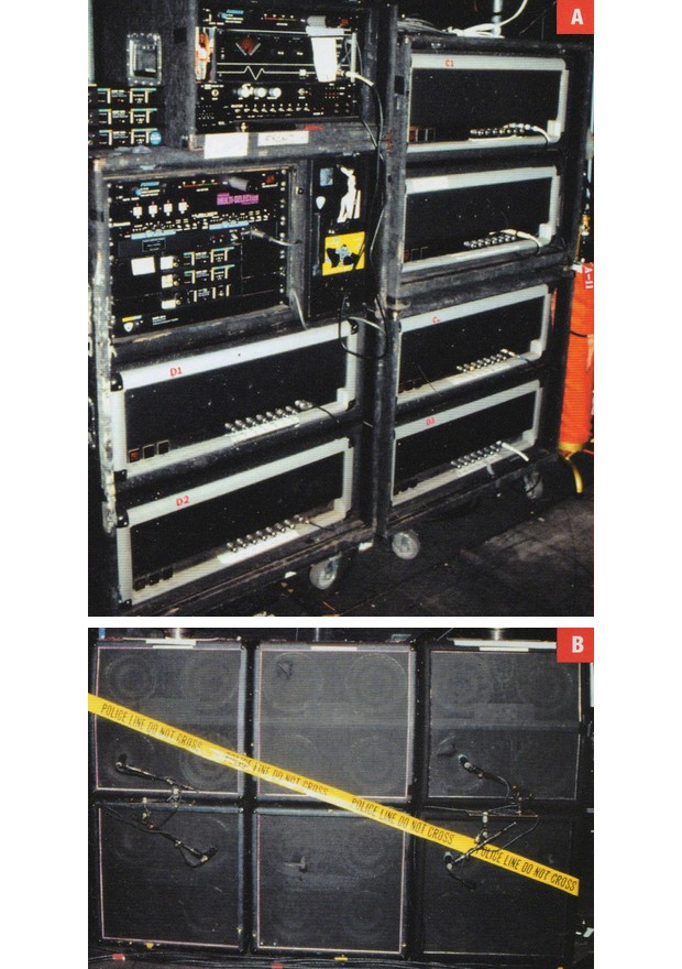 Slashs Live Gear With Guns N Roses  Guitars amps and