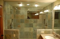 Slate Bathroom Tile Benefits, Bathroom Slate Tiles