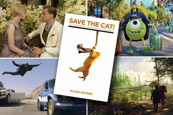 Hollywood And Blake Snyders Screenwriting Book Save The Cat