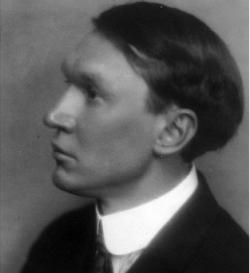 American poet Vachel Lindsay (1879-1931)