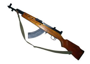 AK-47-style semi-automatic rifle