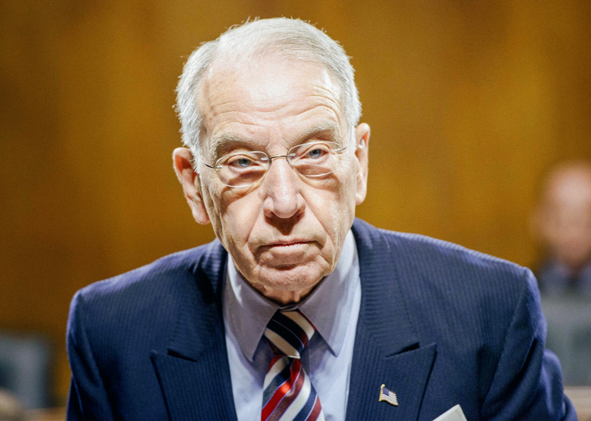 Image result for chuck grassley pic