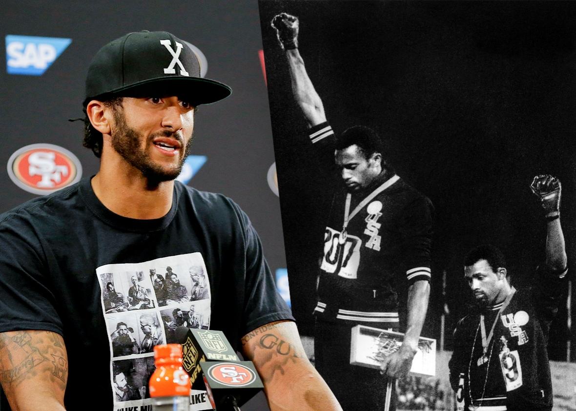 Image result for the black athlete kaepernick ali