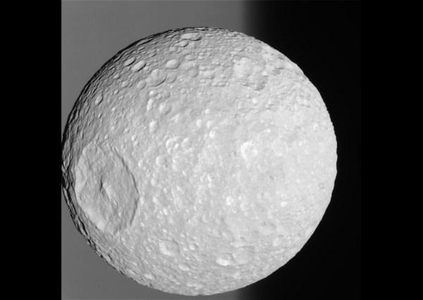 Death Star Moon Mimas