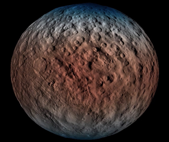 The Protoplanet Ceres: Water, Water, Everywhere
