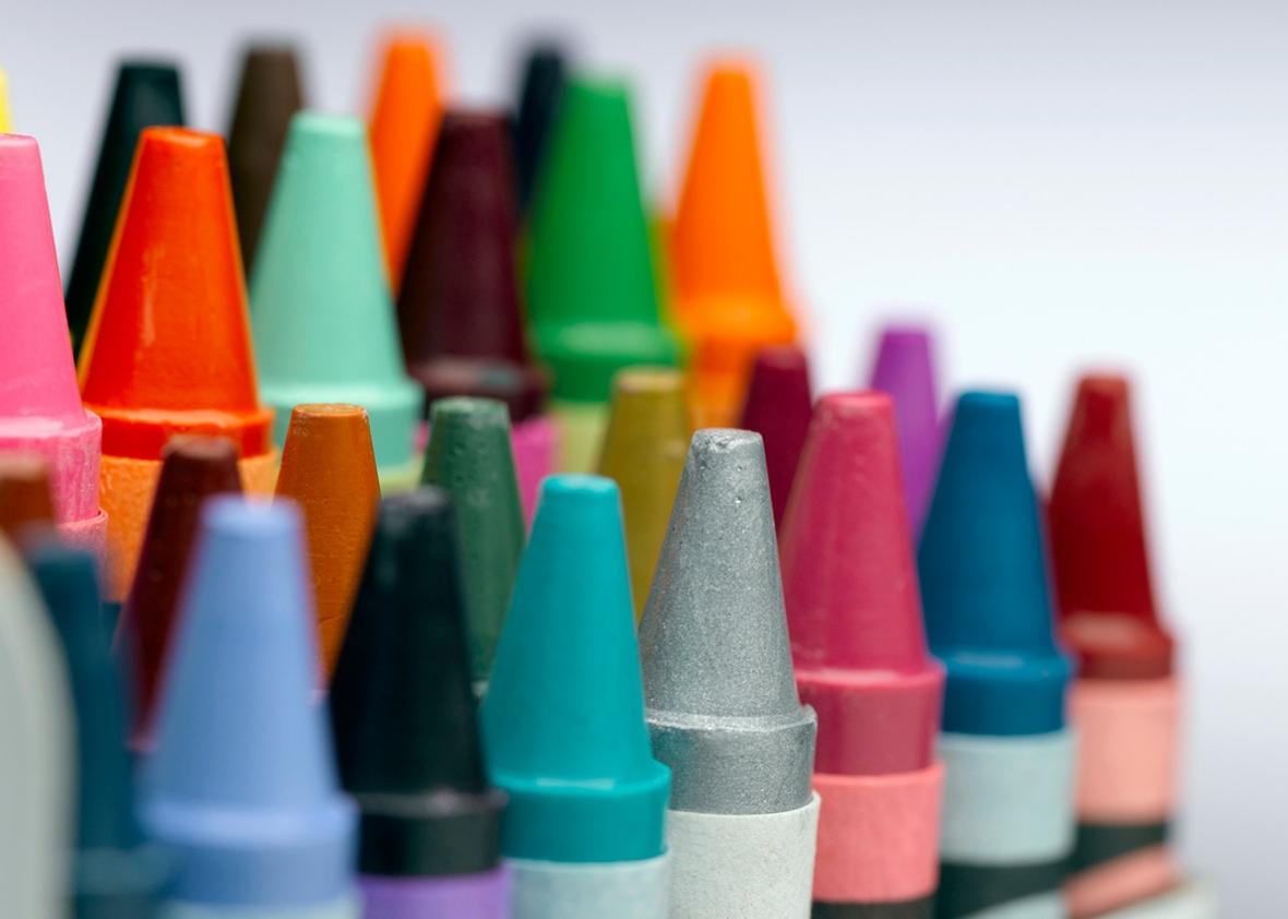identifying crayola crayon color