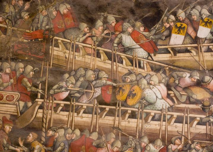 What Were Naval Tactics Like In Europe During The Middle Ages?