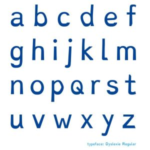 Dyslexie - A Font for Readers with Dyslexia