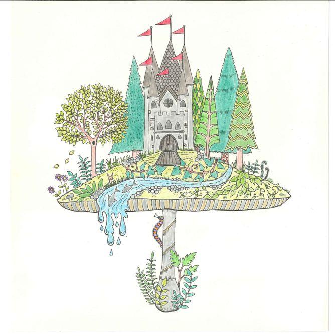 Johanna Basford Enchanted Forest Secret Garden Addictive