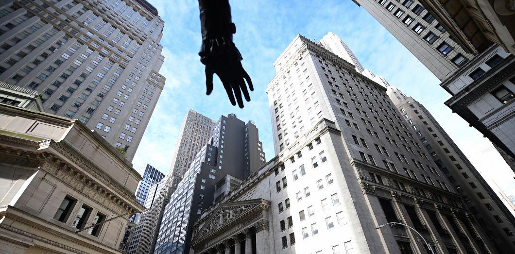 La Bourse de Wall Street, à New York, en octobre 2019. | Johannes Eisele / AFP
