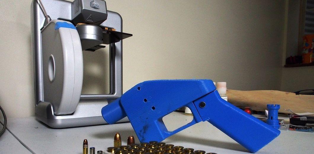 Une arme imprimée en 3D | ROBERT MACPHERSON / AFP