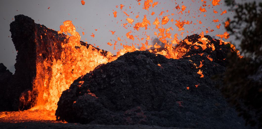 Le volcan Kilauea à Hawaï, le 23 mai 2018. | RONIT FAHL / AFP