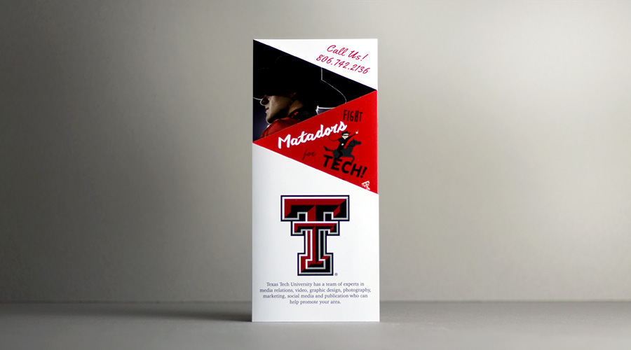 Texas Tech Marketing Brochure | Slate Group