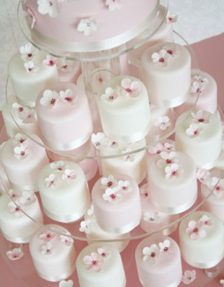 The Cake Parlour - Cherry Blossom mini cakes