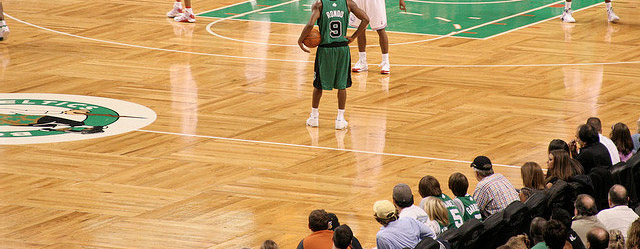 Boston Celtics Parquet Floor  Slaughterbeck Floors Inc