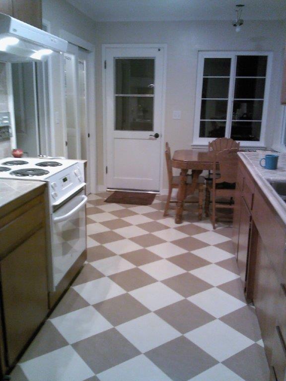 cork floor kitchen glass backsplash marmoleum floors gallery | slaughterbeck floors, inc ...