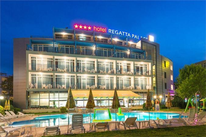Тур в Болгарию, Солнечный берег, отель Регата Палас 4* от 384EUR