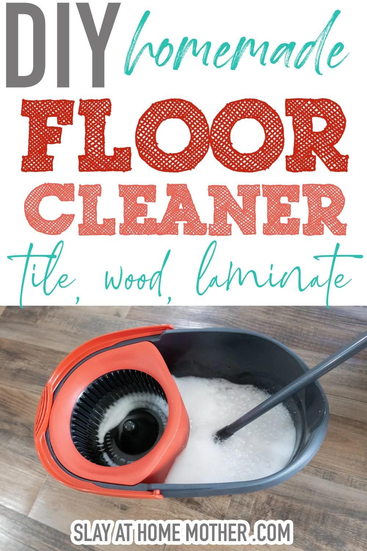 homemade floor cleaner great for tile