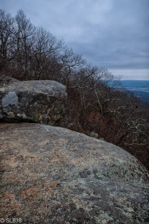 Overlook on the AT in Shenandoah National Park