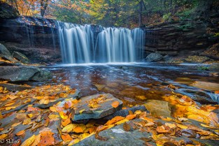 Ricketts Glen State Park Fall 2016, Waterfall, Fall