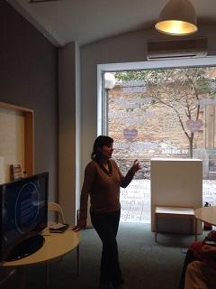 Irene presenting resized