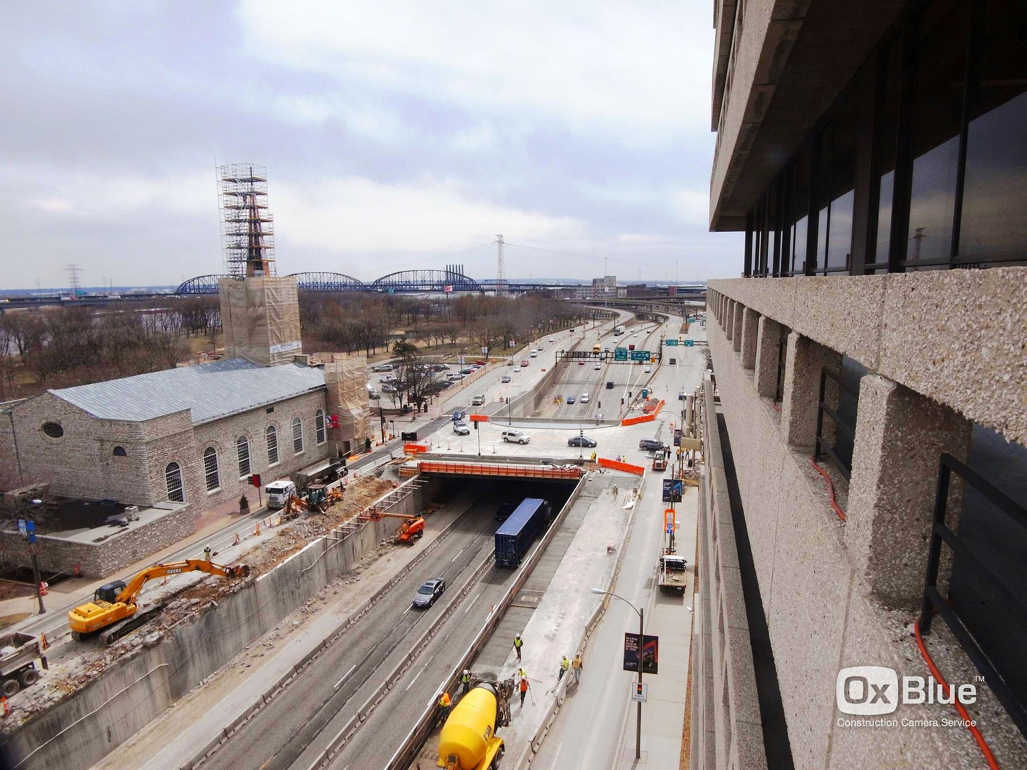 Gateway Arch Park City Construction